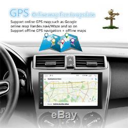 Double 2Din Android 8.1 7 1080P Car pLAYER Stereo Radio GPS Wifi QUAD-Core RDS
