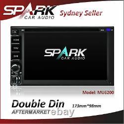 Double Din Universal Sat Nav Gps DVD Bt Usb Navigation Stereo Radio Bluetooth