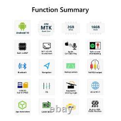 Eonon GA2187 2Din 10 IPS Android 10 4Core Car Stereo GPS Sat Radio Touch Screen
