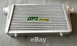 FMIC Universal Aluminum turbo Intercooler 450X300X70mm Inlet/Outlet 76mm 3