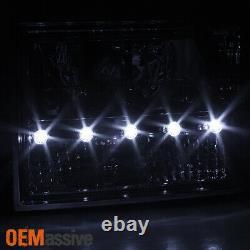 Fit 93-98 Jeep Grand Cherokee 1PC LED Headlights/Corner/Bumper Lamps L + R