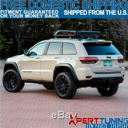 Fit For 11-18 Grand Cherokee OE Black Roof Rack Rail Cross Bar With Key Lock