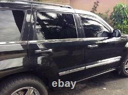 Fit for 2005-2009 Jeep Grand Cherokee Chrome Body Side Molding Cover Accessories