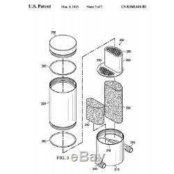 Fits 05-20 MOPAR SILVER Billet Catch Can 5.7 6.1 392 HEMI Z Bracket Technology