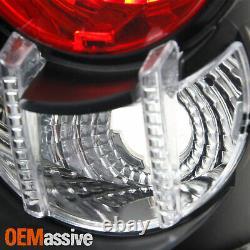 Fits 93-98 Grand Cherokee Sport SUV Black Tail Brake Lights Lamp Pair Left+Right