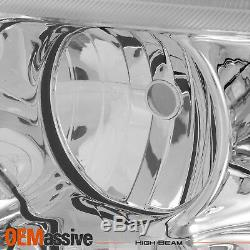 Fits 99-04 Jeep Grand Cherokee Replacement Headlights Headlamps Left + Right