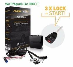 Flashlogic Plug-N-Play Remote Start for CHRYSLER DODGE JEEP RAM FLRSCH5 NEW
