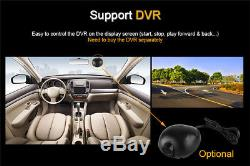 Folding Car DVD Player 10.1 Android 2Din Stereo GPS Navigation DVR Mirror Link
