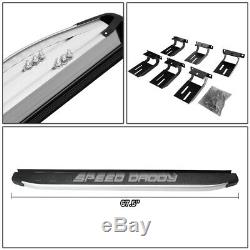 For 11-17 Jeep Grand Cherokee 5.75' Metallic/black Step Bar Nerf Running Boards