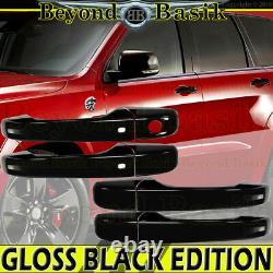 For 2011-2021 JEEP Grand Cherokee DODGE Durango GLOSS BLACK Door Handle Cover SK