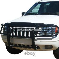 For 99-04 Grand Cherokee Wj Suv Black Coated MILD Steel Front Bumper Grill Guard