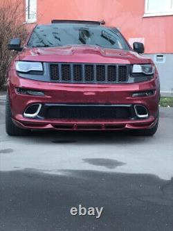 For Jeep Grand Cherokee 2011-2015 2016 SRT Front Bumper Lip Splitter FRP spoiler