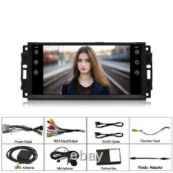 For Jeep Wrangler Dodge Charger Chrysler Android 10.1 Car Radio Stereo GPS Wifi