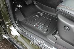 Front Sure-Fit Floor Mats 2013-2020 Jeep Grand Cherokee