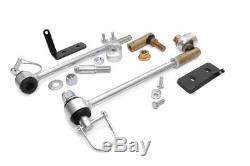 Front Sway Bar Disconnects, 1984-2001 Jeep Cherokee XJ with4-6, 93-98 ZJ Grand