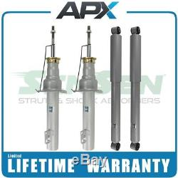 Front and Rear Shocks and Struts for 06-10 Jeep Commander