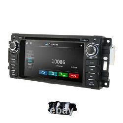 Für JEEP Grand Cherokee Jouruney 6.2 Autoradio GPS USB Navi Rückfahrkamera+ EU