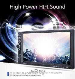 GPS Navigation Car Bluetooth Stereo MP3 Player Steering Wheel Control FM radio