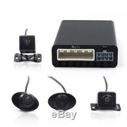 HD 360° Bird View Panoramic System 4 Camera Car DVR Recording Parking Rear View