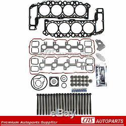 Head Gasket Set Bolts Fits 99-03 Dodge Dakora Durango RAM Jeep 4.7 SOHC VIN J, N