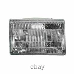 Headlights & Parking Corner Lights Left & Right Kit Set for 97-98 Grand Cherokee