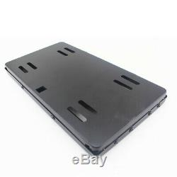 High Quality Shutter Cover Up Electric Stealth USA License Plate Frame With Remote