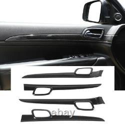 Inner Door Handle Trim Cover Strip for Jeep Grand Cherokee 2011-19 Carbon Fiber