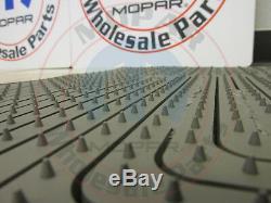 JEEP GRAND CHEROKEE & COMMANDER Dark Khaki All-Weather style Floor Mats MOPAR