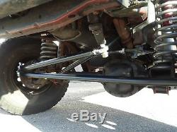 JEEP XJ MJ ZJ TJ LJ Crossover 1 TON steering kit high clearance black