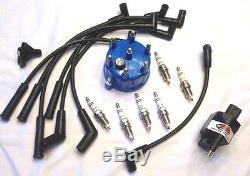 Jeep 4.0l Ignition Tune Up Kit Crt Powerboost Plus Kit 1991-1999 Xj Yj Zj Tj