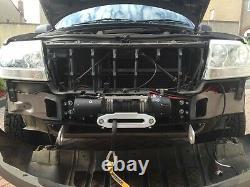 Jeep Grand Cherokee WJ 1999-2005 Hidden WINCH Bumper Mount Recovery
