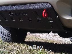 Jeep Grand Cherokee WJ Bumper skid plate with shackle tabs
