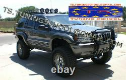 Jeep Grand Cherokee Wj 1999 2004 Fender Flares Wheel Arch Extensions