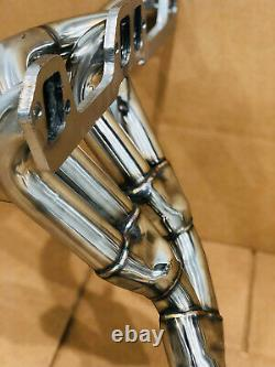 Jeep Grand Cherokee ZJ Stainless Steel Long Tube Headers Ypipe 5.2 5.9 V8 Magnum