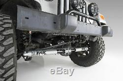 Jeep Wrangler TJ Cherokee XJ ZJ BDS FOX 2.0 Dual Steering Stabilizer Kit 84-06