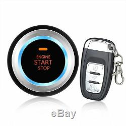 Keyless Entry One Key Remove Start Engine Ignition Vibration Alarm for Auto Car