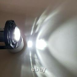 LED Fog Light Lamp For 15-19 Dodge Charger SRT Hellcat 14-19 Grand Cherokee Pair