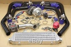 Mazda Universal 7psi Upgrade T3/t4 Turbo Turbocharger Kit Ar. 63 Stage 3 350hp