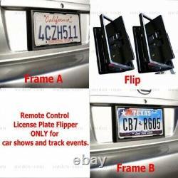 Mexico Remote Control Retractable Hide Hidden Flip License Plate Flipper Stealth