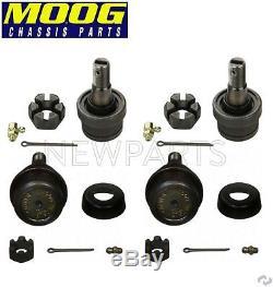Moog Upper & Lower Ball Joints for Jeep Grand Cherokee Wrangler Wagoneer