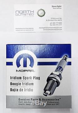 Mopar 11-17 3.6l 3.2l Tune Up Spark Plugs & Intake Gaskets Caravan Ram Cherokee