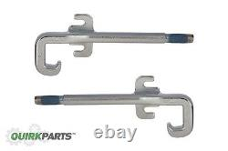 Mopar Genuine Front Left & Right Side Chrome Tow Hook 12-18 Jeep Grand Cherokee