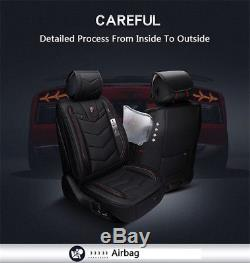 New 6D Pu Leather Car Seat Covers Cars Cushion Auto Accessories Car-Styling