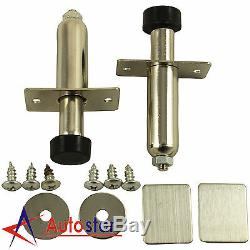 New 80 lb Shaved Handle Door Popper Kit For 2 Door With Remotes Easy Install