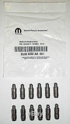 New Mopar 2011-17 3.6l Rear Head Rockers Lifters Valve Cover & Intake Gaskets