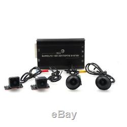 Newest HD 3D 360 Surround View Driving System Bird View Panorama 4CH Cam Car DVR