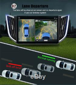 Newest HD 3D 360 Surround View Driving System Panorama 4 Camera Car DVR Recorder