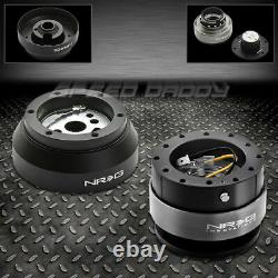 Nrg Steering Wheel Short Hub+gen 2.0 Black Quick Release 69-02 Camaro/corvette