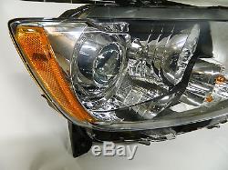 oem 2011 2013 jeep grand cherokee xenon hid passenger side headlight 11 12 13. Black Bedroom Furniture Sets. Home Design Ideas