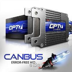 OPT7 AC 55W CANBUS HID Kit 880 9005 9006 H1 H4 H7 H10 H11 H13 5202 5-6000K Xenon